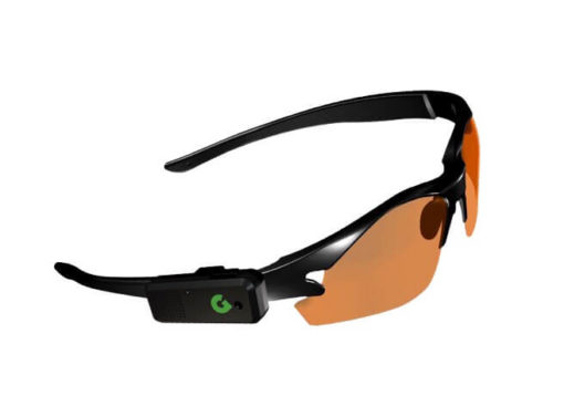 GoGolf GPS on glasses | Golf Verified