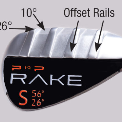 RAKE Sand Wedge (Steel Shaft) Golf Verfied Best Tools Technology Training Aids