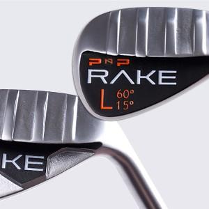 RAKE Lob Wedge (Steel Shaft) Golf Verfied Best Tools Technology Training Aids